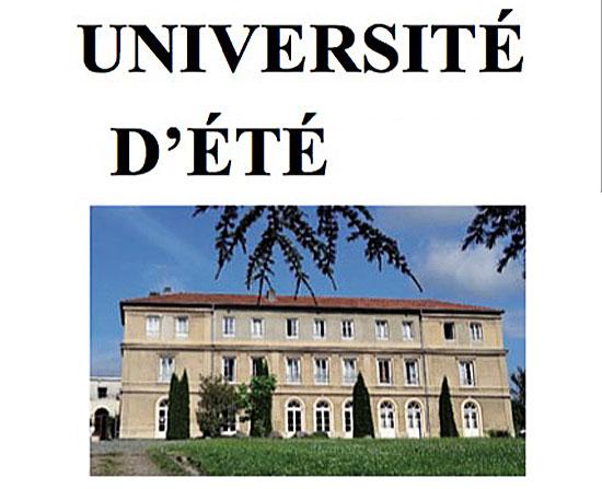 Première Newsletter de l'université d'été