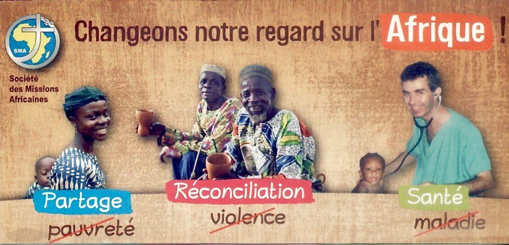 """Affiche """"changeons notre regard sur l'Afrique"""""""