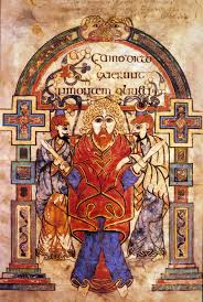 Book of Kells, arrestation du Christ