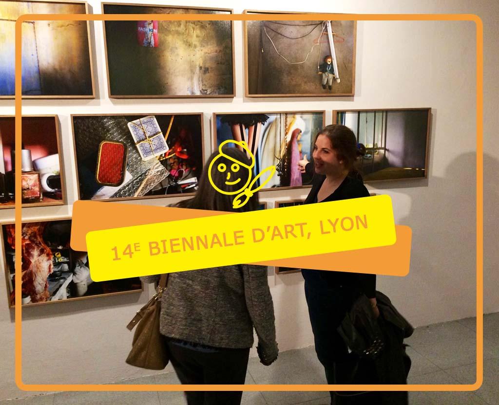 Affiche - 14ème biennale Lyon