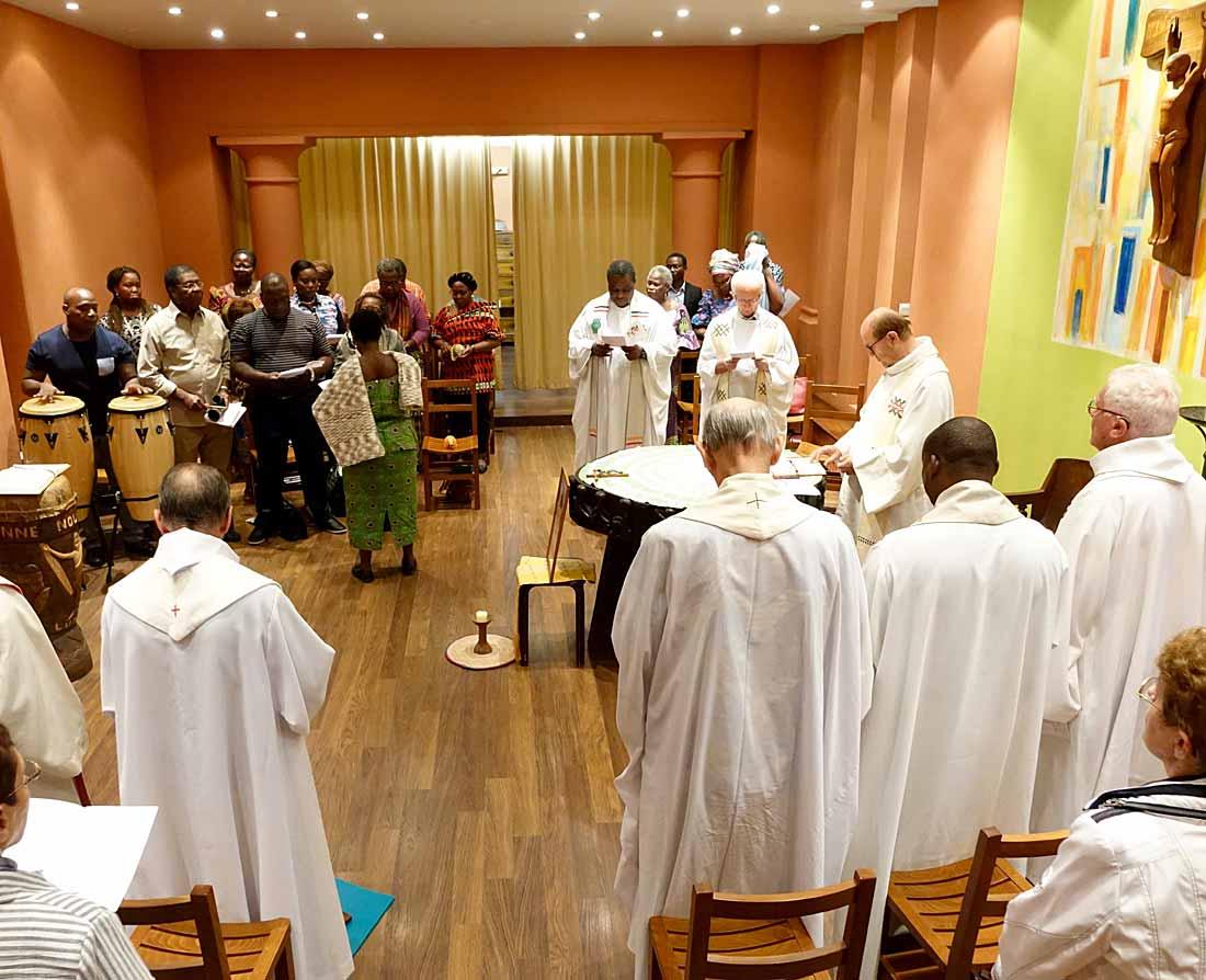 Hommage - Prêtre - Mgr Assogba