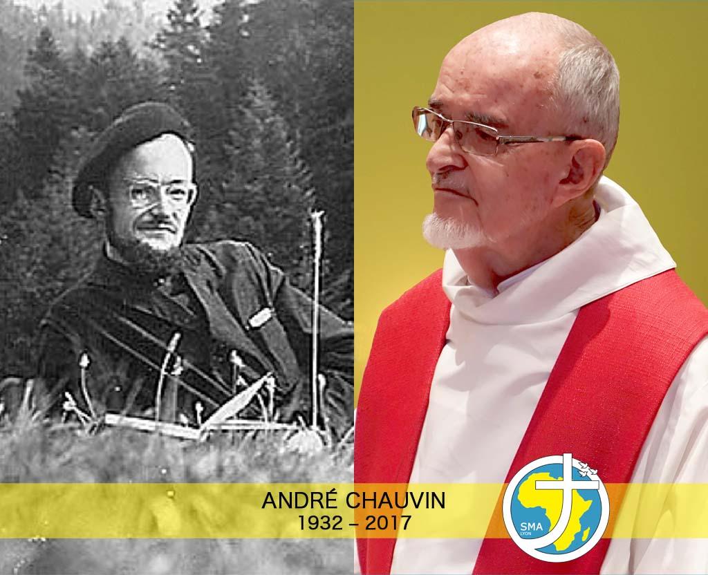 Affiche - André Chauvin - Deux profils