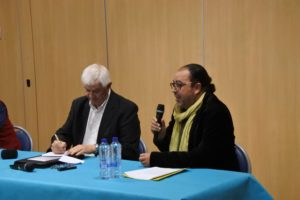 Deux intervenants - dialogue interreligieux
