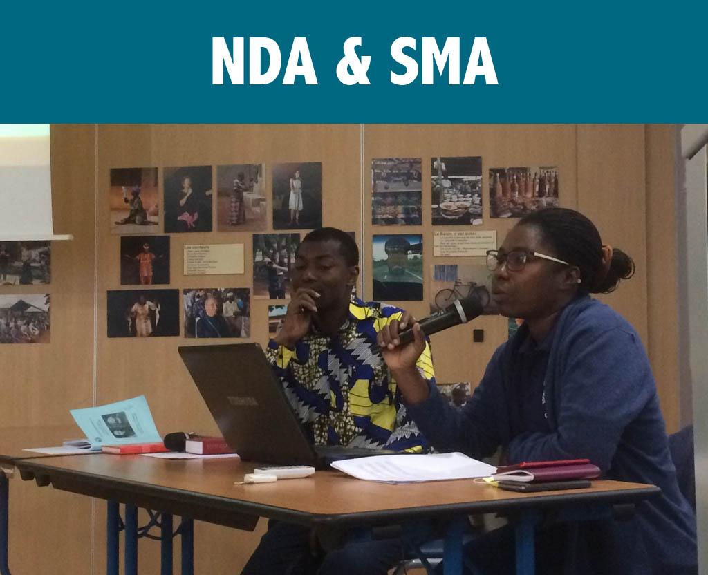 Rencontre NDA - SMA - Soeur