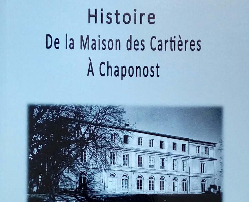 Livre : Histoire de la maison des cartières