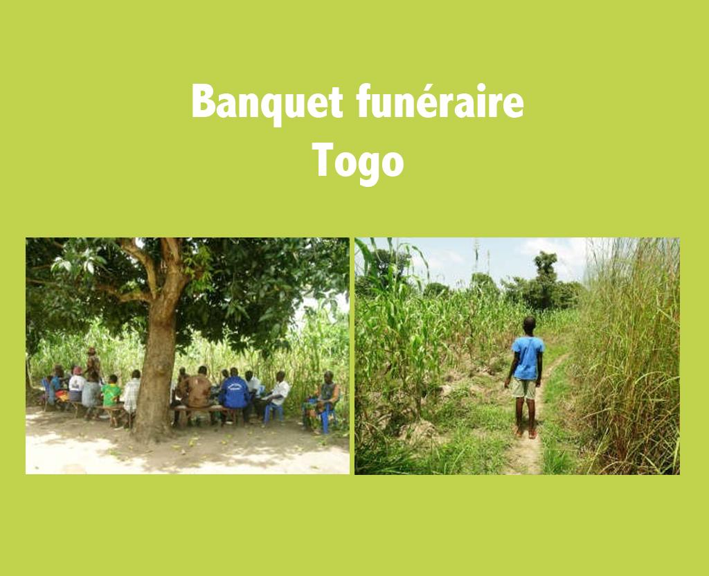banquet funéraire - Togo