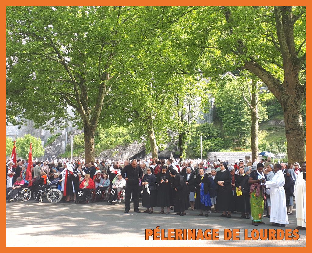 Retour sur le pèlerinage international à Lourdes: 21 au 25 Mai 2018