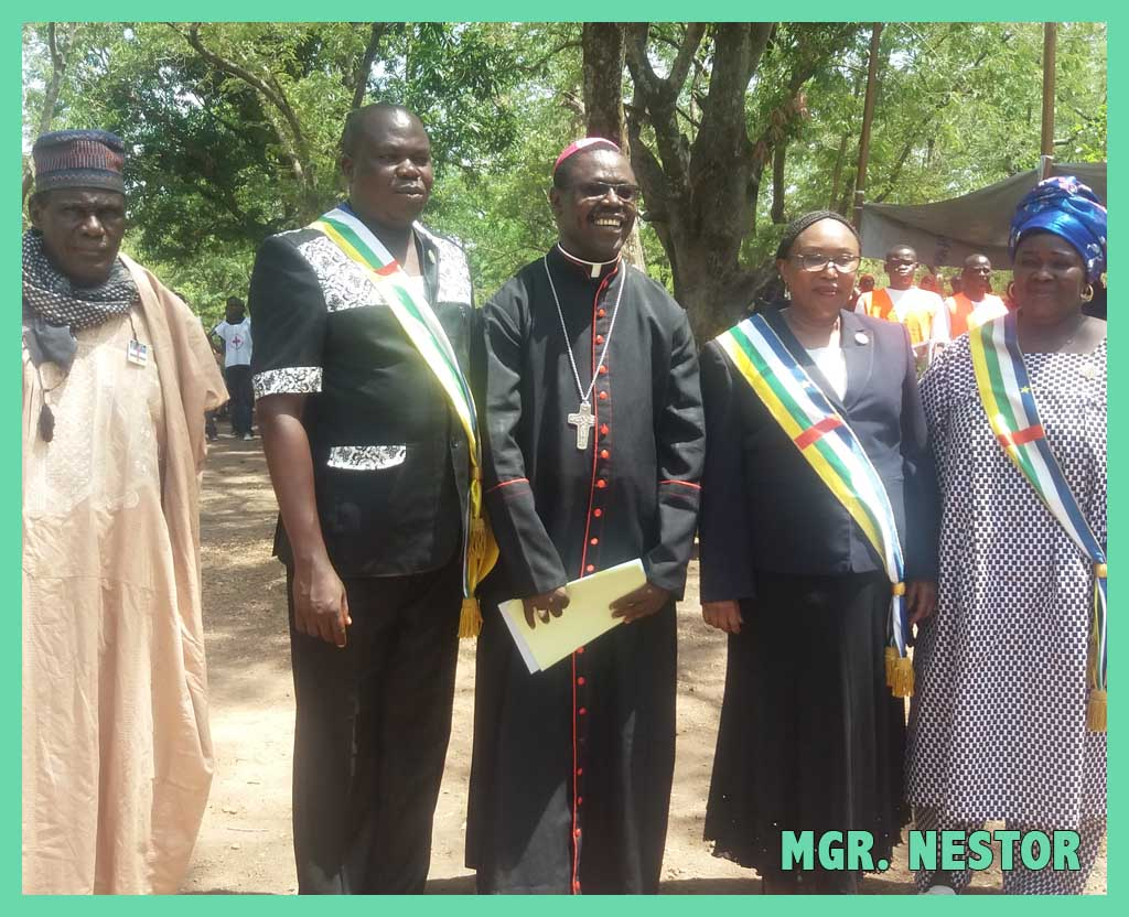 L'évêque de Centrafrique – Rencontre avec Monseigneur Nestor