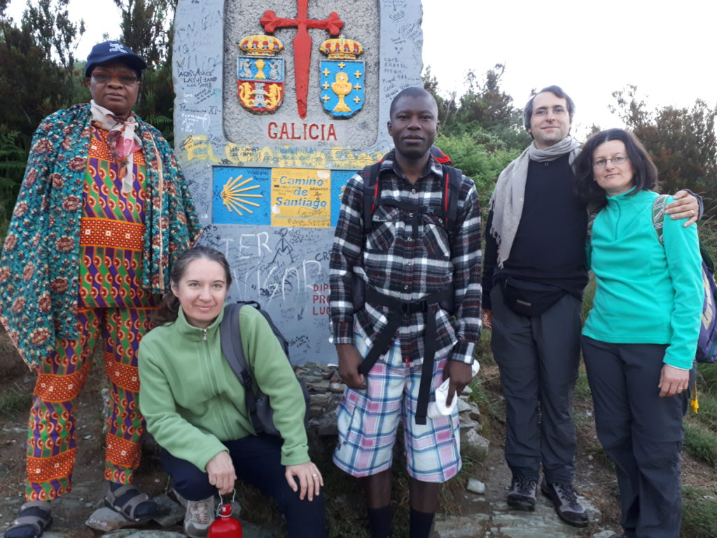 Sur les chemins de Saint Jacques de Compostelle