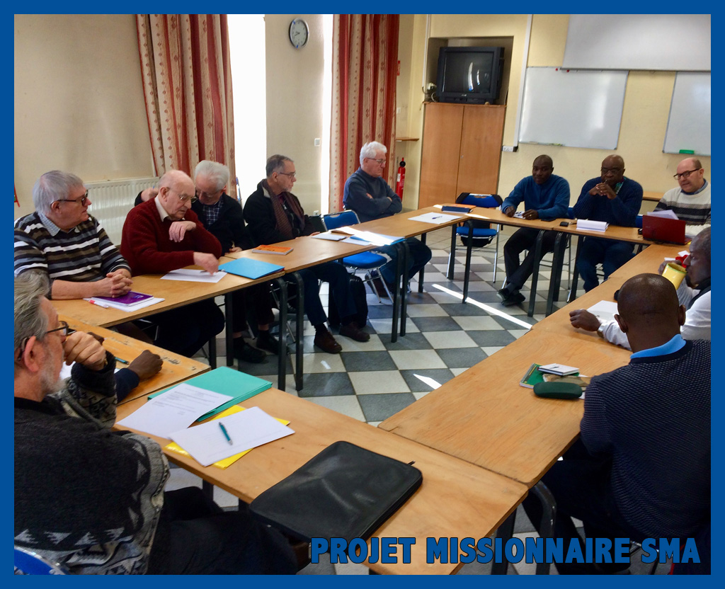 Projet missionnaire SMA en France
