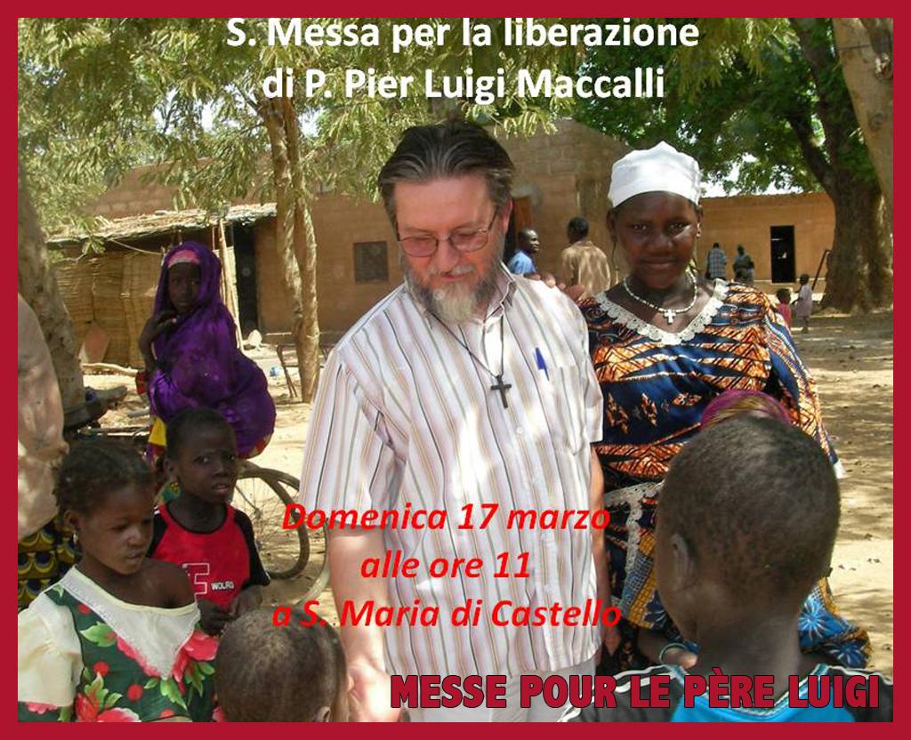 Carême en prière pour la libération du Père Maccalli