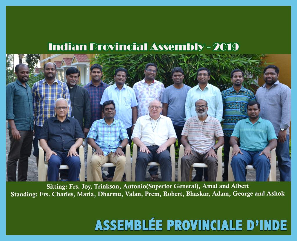 Première assemblée de la Province d'Inde