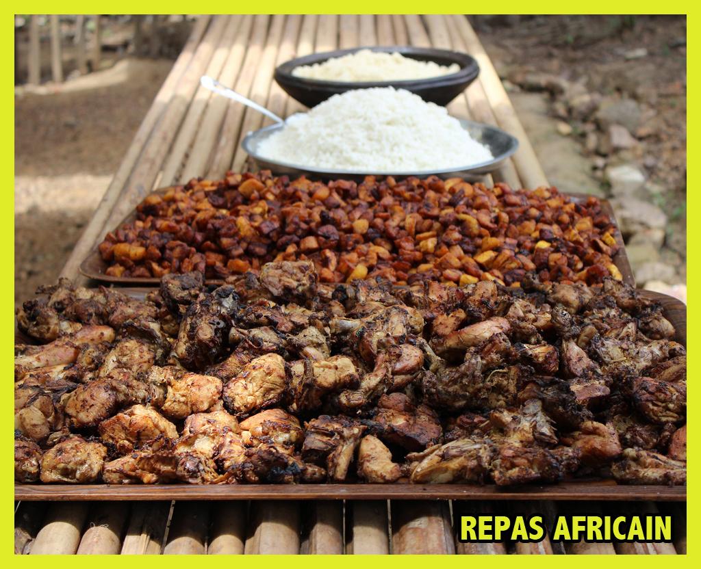 16 février – Repas africain
