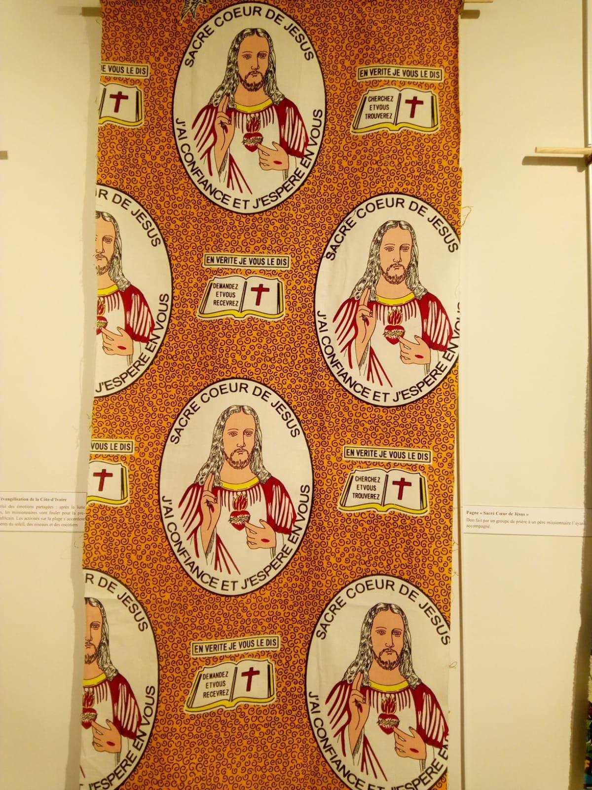 pagne religieux du Sacré-Cœur
